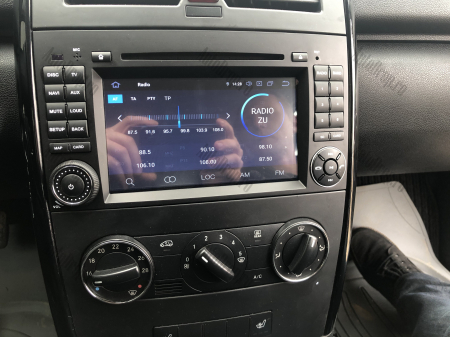 Navigatie Mercedes Benz/VW A/B-Class Vito Viano Sprinter Crafter, Android 10, Octacore|PX5|/ 4GB RAM + 64GB ROM cu DVD, 7 Inch - AD-BGWMBSPR7P525