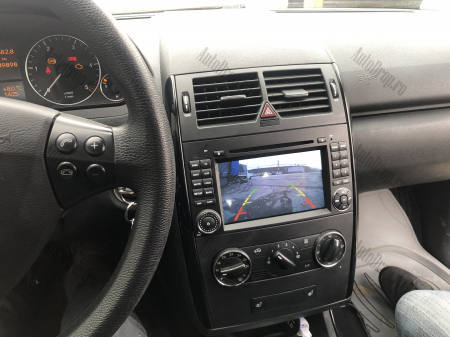 Navigatie Mercedes Benz/VW A/B-Class Vito Viano Sprinter Crafter, Android 10, Octacore|PX5|/ 4GB RAM + 64GB ROM cu DVD, 7 Inch - AD-BGWMBSPR7P523