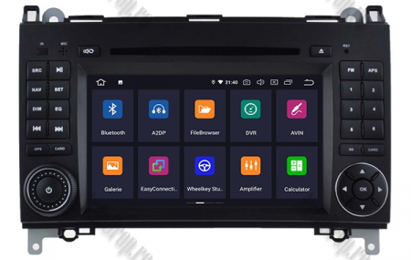 Navigatie Mercedes Benz/VW A/B-Class Vito Viano Sprinter Crafter, Android 10, Octacore|PX5|/ 4GB RAM + 64GB ROM cu DVD, 7 Inch - AD-BGWMBSPR7P51