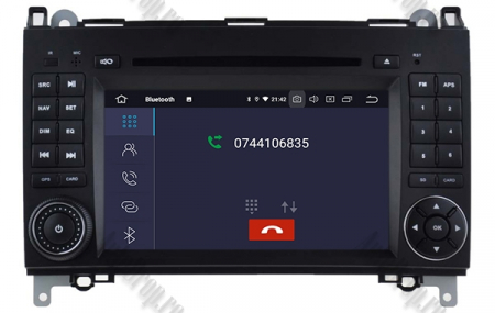 Navigatie Mercedes Benz/VW A/B-Class Vito Viano Sprinter Crafter, Android 10, Octacore|PX5|/ 4GB RAM + 64GB ROM cu DVD, 7 Inch - AD-BGWMBSPR7P55