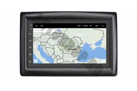 NAVIGATIE Renault MEGANE 2 (2002-2009), ANDROID 9.1, QUADCORE|MTK| / 2GB RAM + 32GB ROM, 7 INCH - AD-BGPMEGANE27MTK2GB12