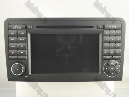 Navigatie Mercedes Benz ML W164/ GL X164, Android 9, Octacore|PX5|/ 4GB RAM + 64GB ROM cu DVD, 7 Inch - AD-BGWMBMGP517