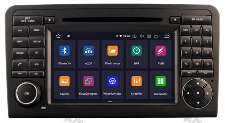 Navigatie Mercedes Benz ML W164/ GL X164, Android 10, Quadcore PX30 / 2GB RAM + 16GB ROM cu DVD, 7 Inch - AD-BGWMBMGP32