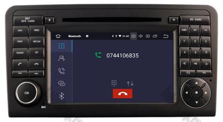 Navigatie Mercedes Benz ML W164/ GL X164, Android 10, Quadcore PX30 / 2GB RAM + 16GB ROM cu DVD, 7 Inch - AD-BGWMBMGP36