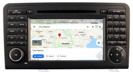 Navigatie Mercedes Benz ML W164/ GL X164, Android 10, Quadcore PX30 / 2GB RAM + 16GB ROM cu DVD, 7 Inch - AD-BGWMBMGP314