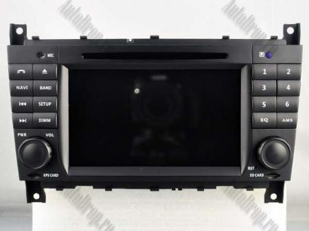 Navigatie Mercedes Benz C-Class W203/ CLC, Android 9, QUADCORE|PX30|/ 2GB RAM + 16GB ROM cu DVD, 7 Inch - AD-BGWMBCCM7P317