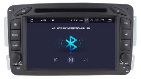 Navigatie Mercedes Benz C-Class W203 / Vito / Viano / CLK, Android 10, Octacore|PX5| / 4GB RAM + 64GB ROM, 7 Inch - AD-BGWMBCC7P54