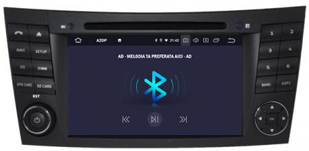 Navigatie Mercedes Benz E-Class W211/ CLS W219, Android 10, Octacore|PX5|/ 4GB RAM + 64GB ROM cu DVD, 7 Inch - AD-BGWMBW211P54