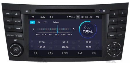 Navigatie Mercedes Benz E-Class W211/ CLS W219, Android 10, Octacore|PX5|/ 4GB RAM + 64GB ROM cu DVD, 7 Inch - AD-BGWMBW211P53