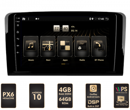 Navigatie Android Merdeces Benz ML/GL PX6 | AutoDrop.ro [0]