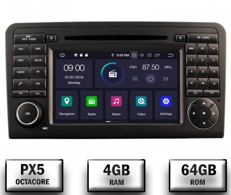 Navigatie Auto Mercedes Benz ML W164 - GL X164 | 4+64GB [0]