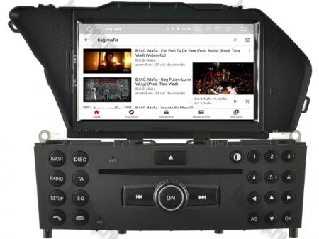 Navigatie Mercedes Benz GLK X204/ GLK300/ GLK 350, Android 9, Octacore|PX5|/ 4GB RAM + 64GB ROM cu DVD, 7 Inch - AD-BGWMBGLKP58