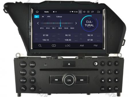 Navigatie Mercedes Benz GLK X204/ GLK300/ GLK 350, Android 9, Octacore|PX5|/ 4GB RAM + 64GB ROM cu DVD, 7 Inch - AD-BGWMBGLKP53