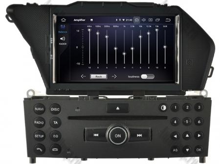 Navigatie Mercedes Benz GLK X204/ GLK300/ GLK 350, Android 9, Octacore|PX5|/ 4GB RAM + 64GB ROM cu DVD, 7 Inch - AD-BGWMBGLKP55