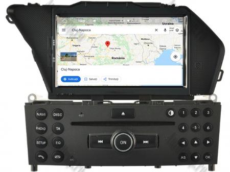Navigatie Mercedes Benz GLK X204/ GLK300/ GLK 350, Android 9, Octacore|PX5|/ 4GB RAM + 64GB ROM cu DVD, 7 Inch - AD-BGWMBGLKP513