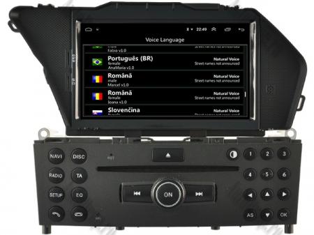 Navigatie Mercedes Benz GLK X204/ GLK300/ GLK 350, Android 10, Quadcore PX30 / 2GB RAM + 16GB ROM cu DVD, 7 Inch - AD-BGWMBGLKP37