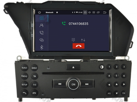 Navigatie Mercedes Benz GLK X204/ GLK300/ GLK 350, Android 9, Octacore|PX5|/ 4GB RAM + 64GB ROM cu DVD, 7 Inch - AD-BGWMBGLKP54
