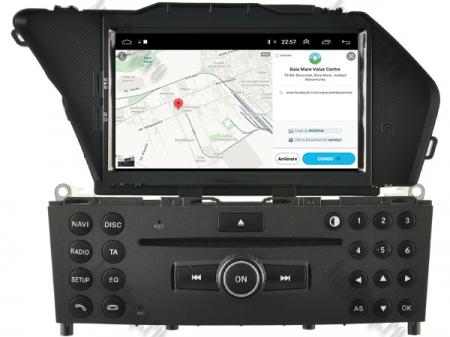 Navigatie Mercedes Benz GLK X204/ GLK300/ GLK 350, Android 9, Octacore|PX5|/ 4GB RAM + 64GB ROM cu DVD, 7 Inch - AD-BGWMBGLKP511