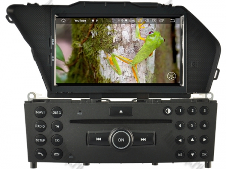 Navigatie Mercedes Benz GLK X204/ GLK300/ GLK 350, Android 10, Quadcore PX30 / 2GB RAM + 16GB ROM cu DVD, 7 Inch - AD-BGWMBGLKP310