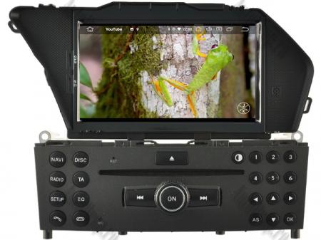 Navigatie Mercedes Benz GLK X204/ GLK300/ GLK 350, Android 9, Octacore|PX5|/ 4GB RAM + 64GB ROM cu DVD, 7 Inch - AD-BGWMBGLKP510
