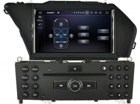 Navigatie Mercedes Benz GLK X204/ GLK300/ GLK 350, Android 10, Quadcore PX30 / 2GB RAM + 16GB ROM cu DVD, 7 Inch - AD-BGWMBGLKP36