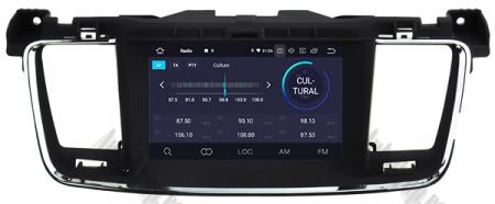 Navigatie Peugeot 508, Android 9, Quadcore|PX30|/ 2GB RAM + 16GB ROM cu DVD, 7 Inch - AD-BGWPGT508P320
