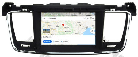 Navigatie Peugeot 508, Android 9, Octacore|PX5|/ 4GB RAM + 64GB ROM cu DVD, 7 Inch - AD-BGWPGT508P513