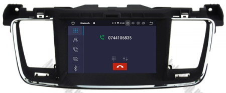Navigatie Peugeot 508, Android 9, Quadcore|PX30|/ 2GB RAM + 16GB ROM cu DVD, 7 Inch - AD-BGWPGT508P323
