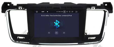 Navigatie Peugeot 508, Android 9, Quadcore|PX30|/ 2GB RAM + 16GB ROM cu DVD, 7 Inch - AD-BGWPGT508P325