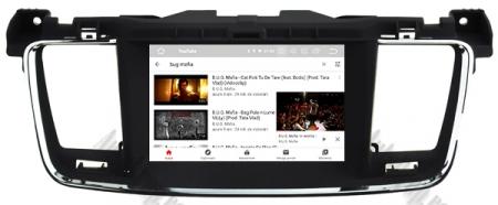 Navigatie Peugeot 508, Android 9, Quadcore|PX30|/ 2GB RAM + 16GB ROM cu DVD, 7 Inch - AD-BGWPGT508P311
