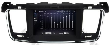 Navigatie Peugeot 508, Android 9, Quadcore|PX30|/ 2GB RAM + 16GB ROM cu DVD, 7 Inch - AD-BGWPGT508P314