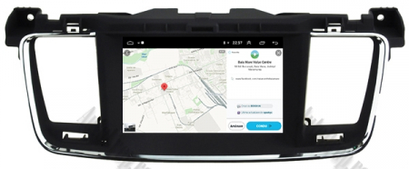Navigatie Peugeot 508, Android 9, Octacore|PX5|/ 4GB RAM + 64GB ROM cu DVD, 7 Inch - AD-BGWPGT508P512