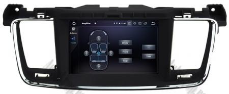 Navigatie Peugeot 508, Android 9, Quadcore|PX30|/ 2GB RAM + 16GB ROM cu DVD, 7 Inch - AD-BGWPGT508P315