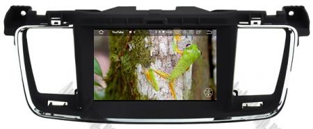 Navigatie Peugeot 508, Android 9, Quadcore|PX30|/ 2GB RAM + 16GB ROM cu DVD, 7 Inch - AD-BGWPGT508P313