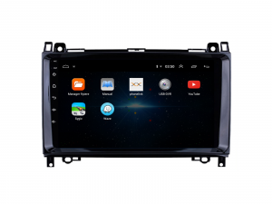Navigatie Mercedes Benz Sprinter, Viano, Vito, A/B Class, Crafter, Android 9.1, QUADCORE|MTK| / 2GB RAM + 32 ROM, 9 Inch - AD-BGPMBSPR9MTK2GB2