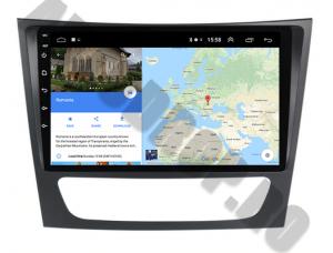 Navigatie Mercedes Benz W211/CLS, QUADCORE|MTK| / 1GB RAM + 16 ROM, 9 Inch - AD-BGPW211MTK9