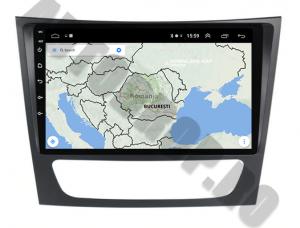 Navigatie Mercedes Benz W211/CLS, QUADCORE|MTK| / 1GB RAM + 16 ROM, 9 Inch - AD-BGPW211MTK10