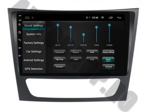 Navigatie Mercedes Benz W211/CLS, QUADCORE|MTK| / 1GB RAM + 16 ROM, 9 Inch - AD-BGPW211MTK6