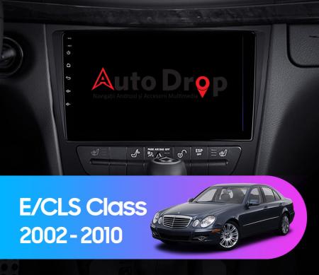 Navigatie Mercedes Benz W211/CLS, QUADCORE|MTK| / 1GB RAM + 16 ROM, 9 Inch - AD-BGPW211MTK15