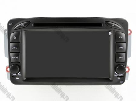 Navigatie Mercedes Benz C-CLASS W203 / Vito / Viano / CLK, Android 10, QUADCORE|PX30| / 2GB RAM + 16GB ROM, 7 Inch - AD-BGWMBCC7P313