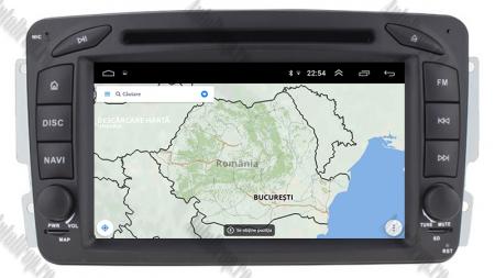 Navigatie Mercedes Benz C-CLASS W203 / Vito / Viano / CLK, Android 10, QUADCORE|PX30| / 2GB RAM + 16GB ROM, 7 Inch - AD-BGWMBCC7P312