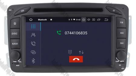 Navigatie Mercedes Benz C-CLASS W203 / Vito / Viano / CLK, Android 10, QUADCORE|PX30| / 2GB RAM + 16GB ROM, 7 Inch - AD-BGWMBCC7P33