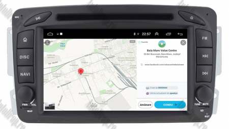 Navigatie Mercedes Benz C-CLASS W203 / Vito / Viano / CLK, Android 10, QUADCORE|PX30| / 2GB RAM + 16GB ROM, 7 Inch - AD-BGWMBCC7P311