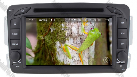 Navigatie Mercedes Benz C-CLASS W203 / Vito / Viano / CLK, Android 10, QUADCORE|PX30| / 2GB RAM + 16GB ROM, 7 Inch - AD-BGWMBCC7P39