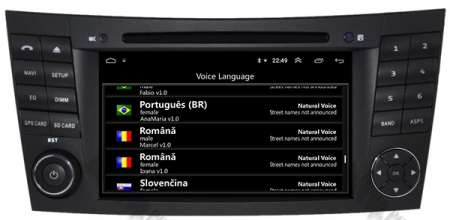 Navigatie Mercedes Benz E-Class W211/ CLS W219, Android 10, QUADCORE|PX30|/ 2GB RAM + 16GB ROM cu DVD, 7 Inch - AD-BGWMBW211P311