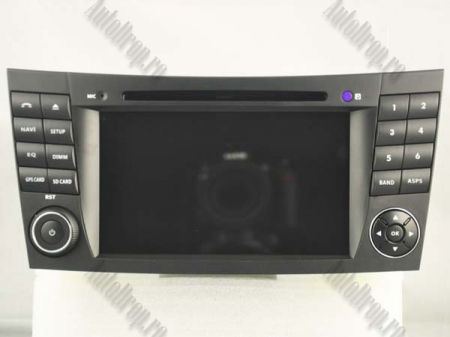 Navigatie Mercedes Benz E-Class W211/ CLS W219, Android 10, QUADCORE|PX30|/ 2GB RAM + 16GB ROM cu DVD, 7 Inch - AD-BGWMBW211P315