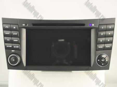 Navigatie Mercedes Benz E-Class W211/ CLS W219, Android 10, QUADCORE|PX30|/ 2GB RAM + 16GB ROM cu DVD, 7 Inch - AD-BGWMBW211P314