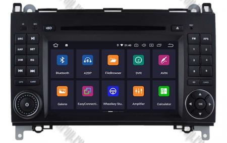 Navigatie Mercedes Benz/VW A/B-Class Vito Viano Sprinter Crafter, Android 10, QUADCORE|PX30|/ 2GB RAM + 16GB ROM cu DVD, 7 Inch - AD-BGWMBSPR7P31