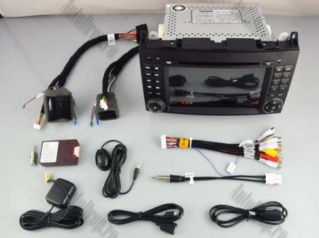 Navigatie Mercedes Benz/VW A/B-Class Vito Viano Sprinter Crafter, Android 10, QUADCORE|PX30|/ 2GB RAM + 16GB ROM cu DVD, 7 Inch - AD-BGWMBSPR7P313