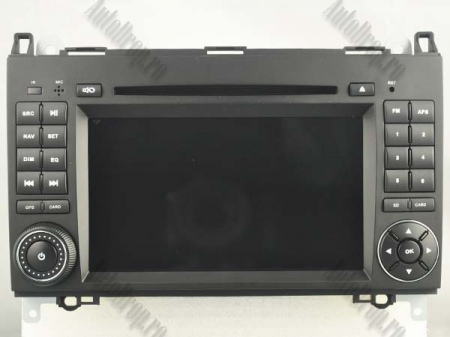 Navigatie Mercedes Benz/VW A/B-Class Vito Viano Sprinter Crafter, Android 10, QUADCORE|PX30|/ 2GB RAM + 16GB ROM cu DVD, 7 Inch - AD-BGWMBSPR7P315